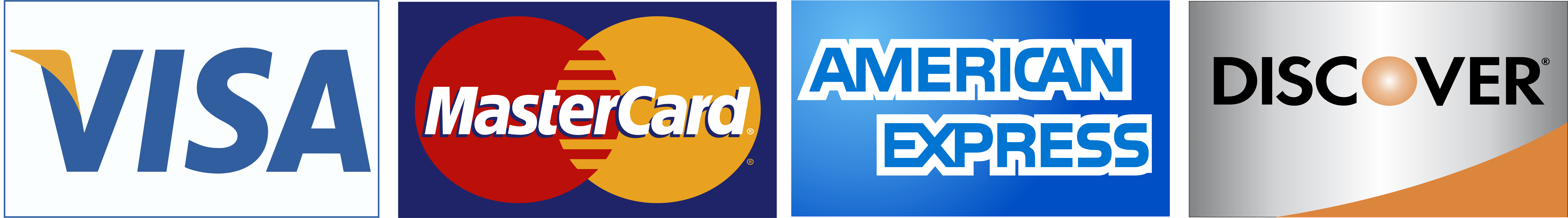 Major Credit Card Logos payment